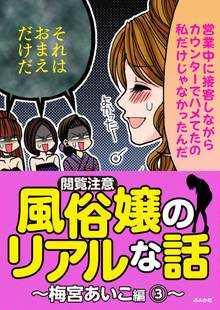 【閲覧注意】風俗嬢のリアルな話~梅宮あいこ編~ 3